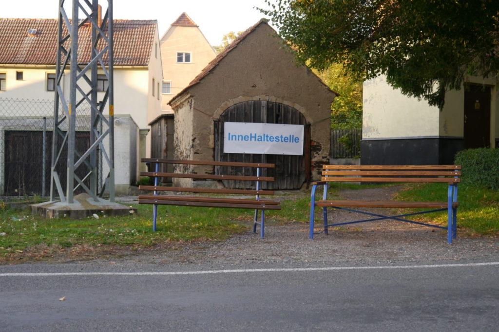 Hoernemann&Walbrodt Projekt InneHaltestellen, Kunst im ländlichen Raum